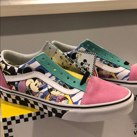 Custom Mickey Mouse Vans | Poshmark